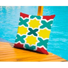 X Outdoor Throw Pillow