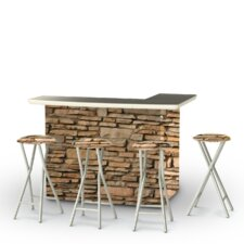 Great price Rock Wall Bar Set