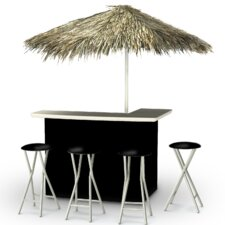 Wonderful Tiki Bar Set | Patio Furniture Near Me