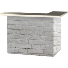 Lovely Cinderblock Bar Set