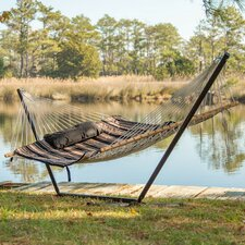 Top Reviews 4 Piece Alpine Cotton Hammock with Stand Set