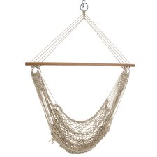 Single Cotton Rope Chair Hammock