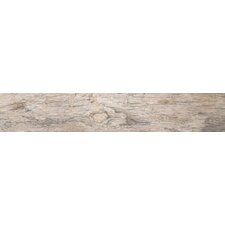 "Redwood Natural 6"" x 24"" Porcelain Wood Tile in Glazed Textured"