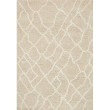 Tangier Hand Tufted Beige Area Rug
