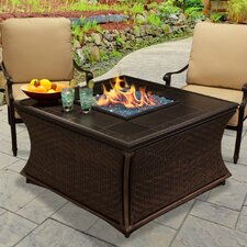 Best Choices Mendocino Propane Fire Pit Table