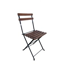French Caf? Bistro Folding Side Chair (Set of 2)