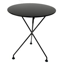 European Caf? Round Folding Table