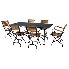 Great price European Caf? 7 Piece Dining Set