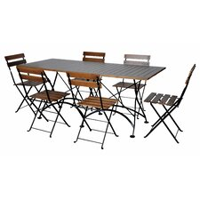 European Caf? 7 Piece Dining Set