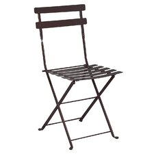 French Bistro European Caf? Folding Side Chair (Set of 2)