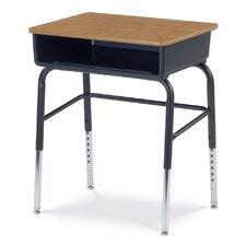 785 Series Wood Adjustable Height Open Front Desk