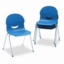 I.Q. Series Armless Stacking Guest Chair (Set of 4)