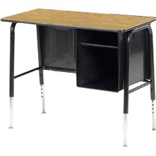 """765 Series Laminate 34"""" Student Computer Desk with Adjustable Height"""