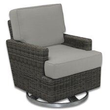 Palisades Swivel Rocking Chair with Cushions