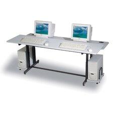Split Level Adjustable Training Table Top