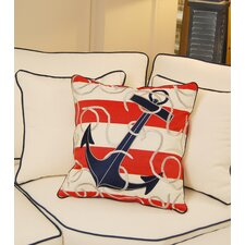 I Sea Life Outdoor Sunbrella Throw Pillow