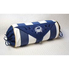 I Sea Life Fabric Outdoor Bolster Pillow