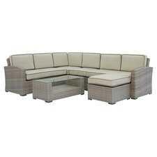 Fresh Candor 7 Piece Deep Seating Group with Cushions