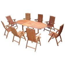 Vista 9 Piece Dining Set I
