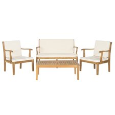 Bradbury 4 Piece Seating Group with Cushions