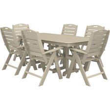 #1 Nautical 7 Piece Patio Dining Set