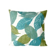 Mystic Leaf Indoor/Outdoor Throw Pillow