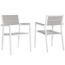 Maine Patio Arm Chair (Set of 2)
