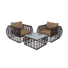 Bargain 3 Piece Deep Seating Group with Cushions