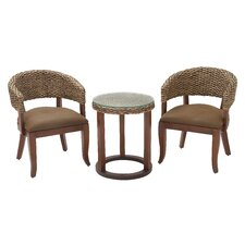3 Piece Woven Rocker Seating Group Set