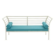 Metal Fabric Garden Bench