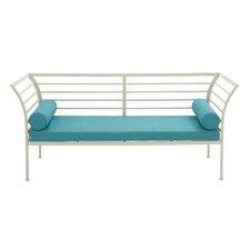 Purchase Metal Fabric Garden Bench