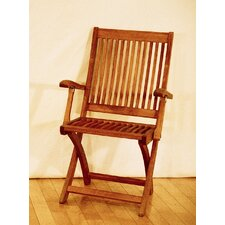 #2 Folding Dining Arm Chair