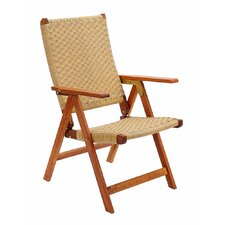 Home and Garden Poly Weave Zero Gravity Chair