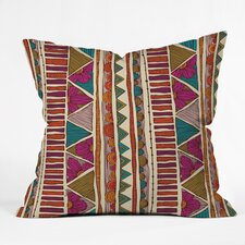 Valentina Ramos Ethnic Stripes Indoor/Outdoor Throw Pillow