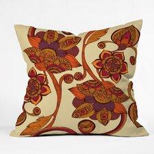 Valentina Ramos Boho Flowers Indoor/Outdoor Throw Pillow