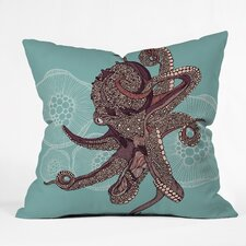 Valentina Ramos Octopus Bloom Indoor/Outdoor Throw Pillow