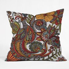 Valentina Ramos Paradise Bird Indoor/Outdoor Throw Pillow