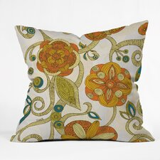 Valentina Ramos Flowers Indoor/Outdoor Throw Pillow