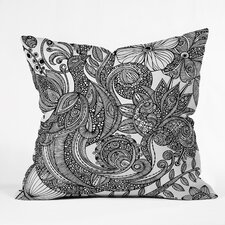 Valentina Ramos Bird in Flowers Indoor/Outdoor Throw Pillow
