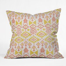 Loni Harris Tribal Party Indoor/Outdoor Throw Pillow
