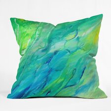 Rosie Brown The Sea Indoor/outdoor Throw Pillow