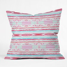 Wonderful Hadley Hutton Floral Tribe Indoor/Outdoor Throw Pillow