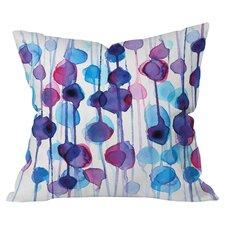 Reviews Cmykaren Abstract Watercolor Indoor/Outdoor Throw Pillow
