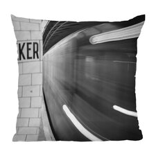 Leonidas Oxby the Subway Throw Pillow