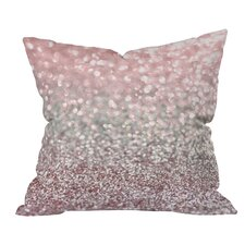 Lisa Argyropoulos Girly Snowfall Indoor/Outdoor Throw Pillow