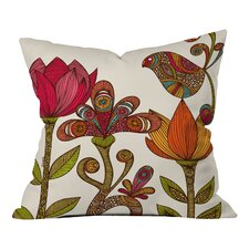 Wonderful Valentina Ramos in the Garden Indoor/Outdoor Throw Pillow