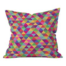 Bianca Green in Love with Triangles Indoor/Outdoor Throw Pillow