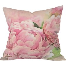 Lisa Argyropoulos Peonies Indoor/Outdoor Throw Pillow