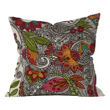 Valentina Ramos Random Flowers Indoor/Outdoor Throw Pillow