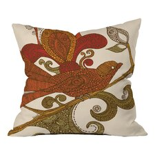 Valentina Ramos the Bird Indoor/Outdoor Throw Pillow